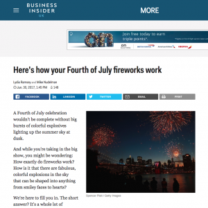 Business insider 4th July blog