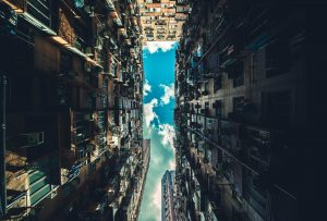 Tall-buildings-looking-up-view