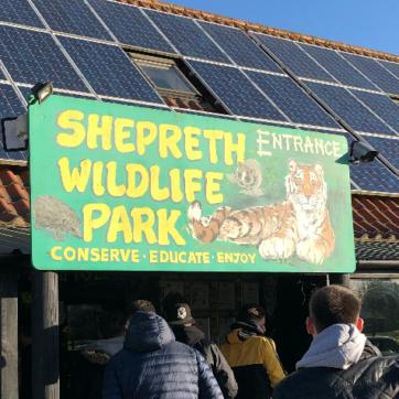 Bulldogs visit to shepreth wildlife park