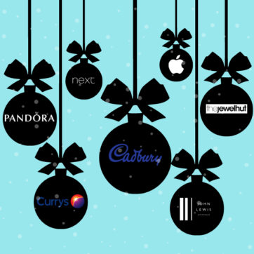 7 examples of brands that spread joy through festive homepages