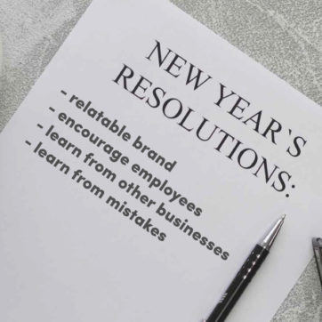 Top new year's resolutions for business growth