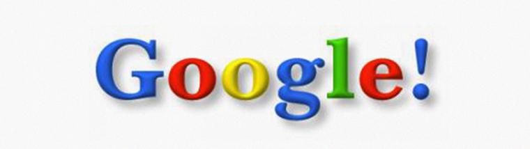 Googles logo in 1998