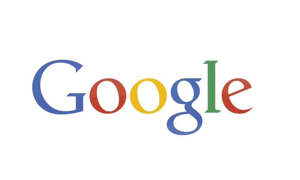 Googles logo in 2013