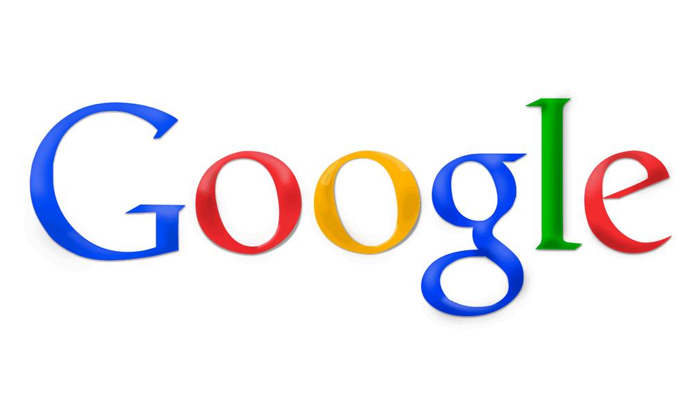 Googles logo in 2010