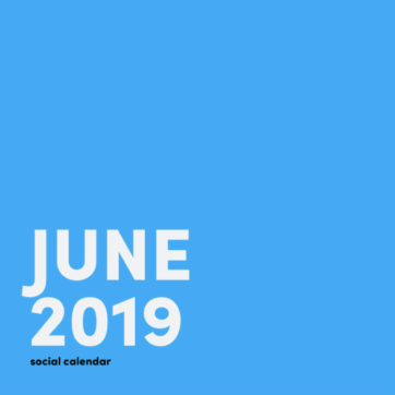 Social media inspiration for June