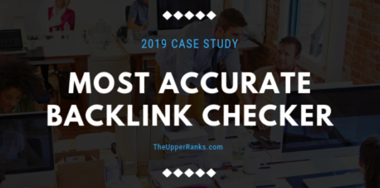 Most accurate backlink checker title header
